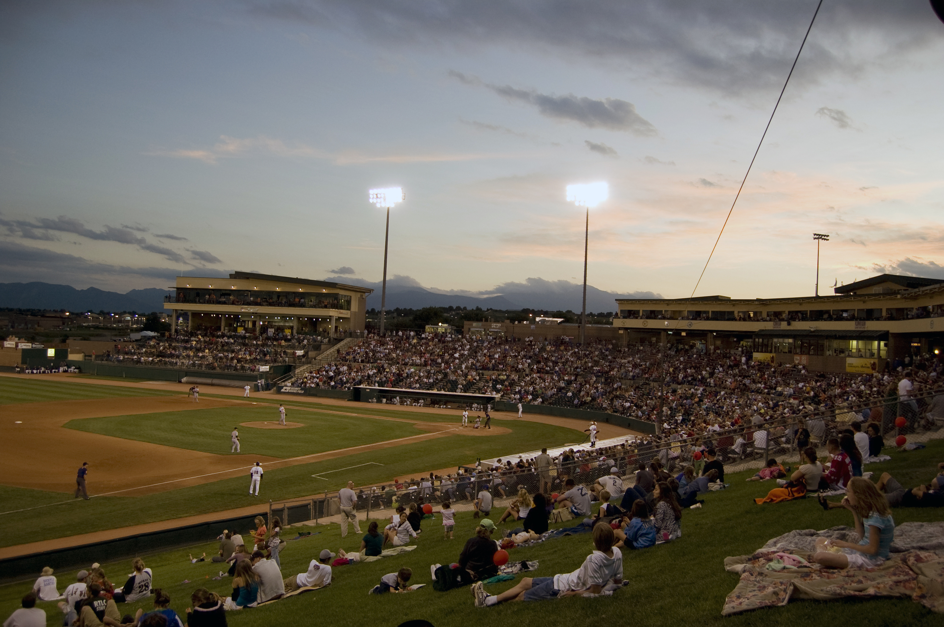 Photo: Colorado Springs Sky Sox at Security Service Field