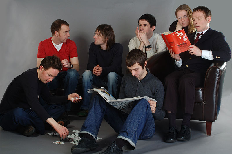 photo: Belle & Sebastian