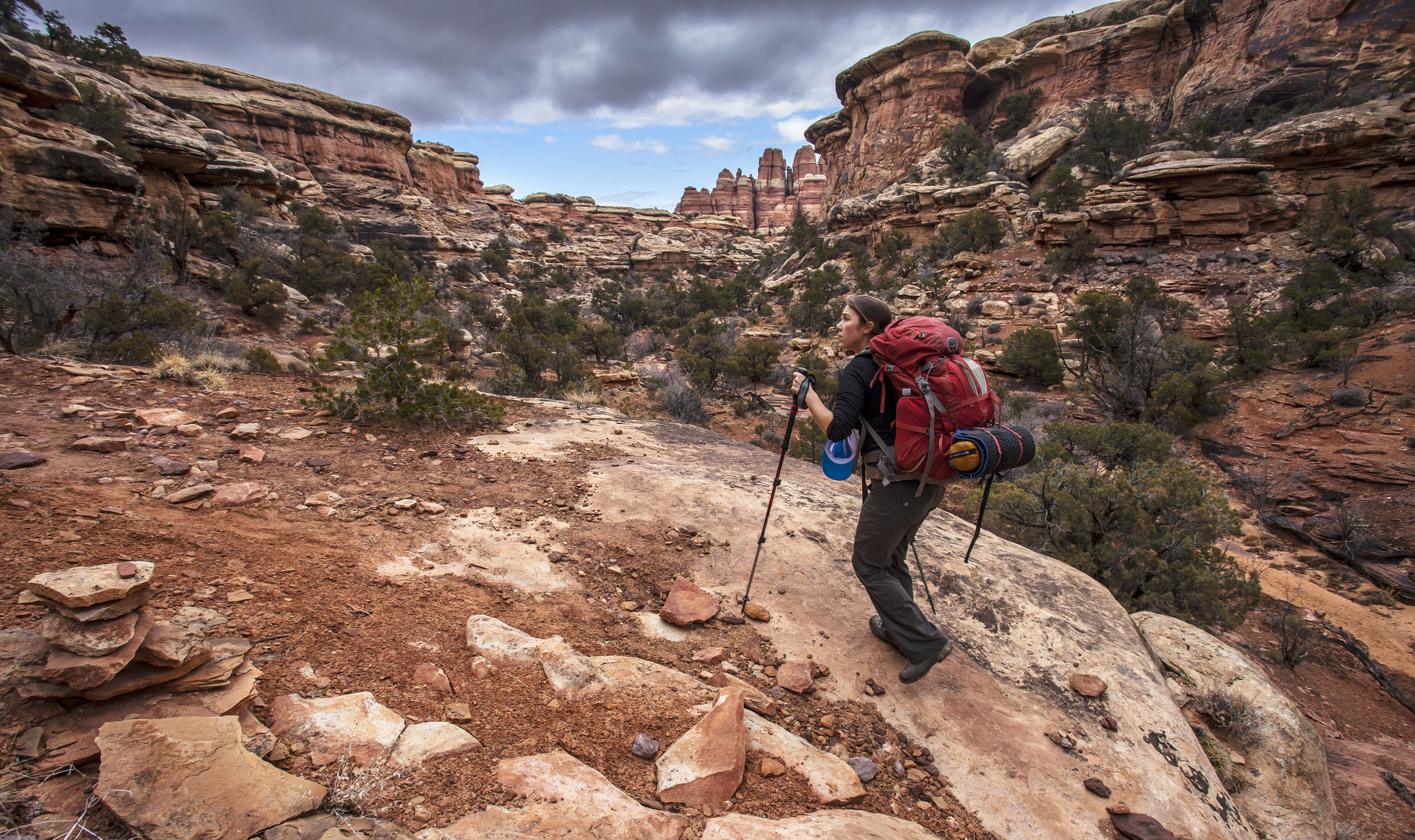 Photo: Osprey backpack in Canyonlands (Flickr/CC)