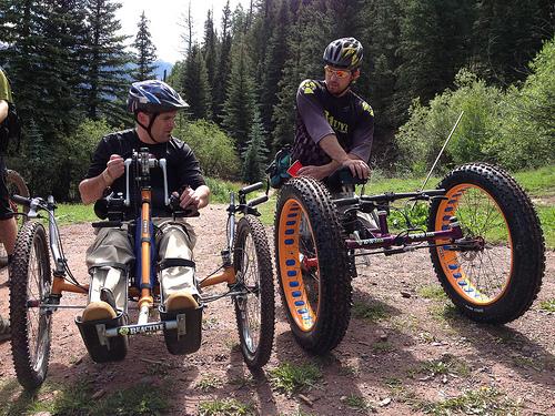 Disable Athletes - Mountain Sports