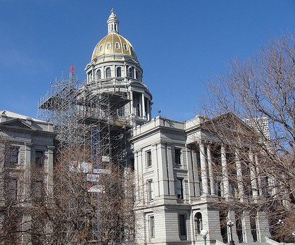 Photo: Colorado Capitol dome 2
