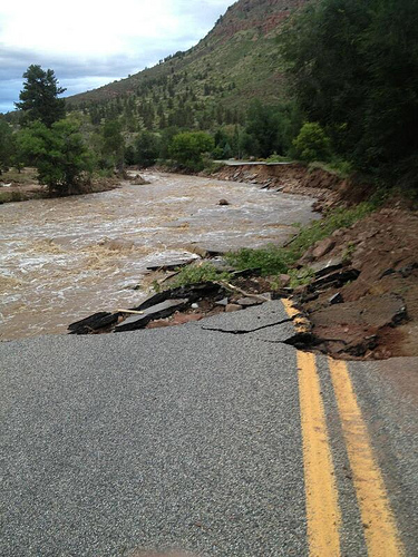 CDOT Mulls Temporary Roads After Floods; Repairs Will Take Months