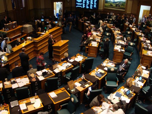 Photo: Colorado House floor