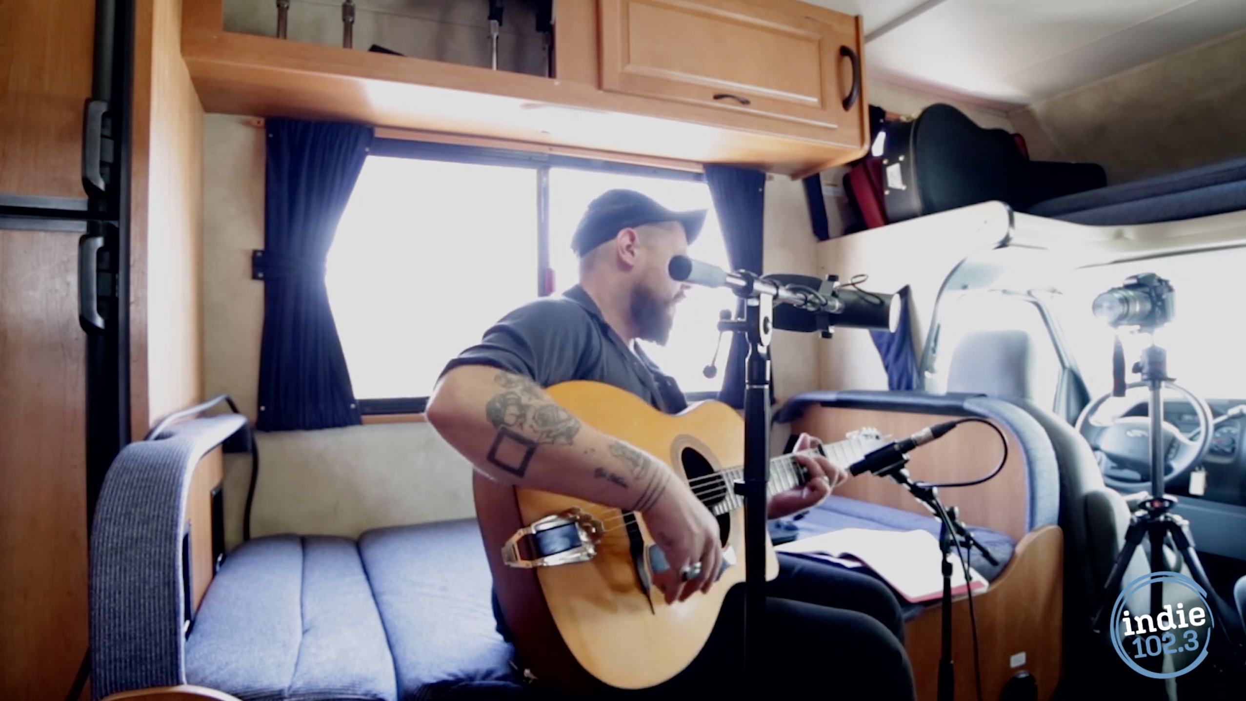 In the video above, Nathaniel Rateliff stopped by our RV during the Underground Music Showcase in 2014 and recorded a session.