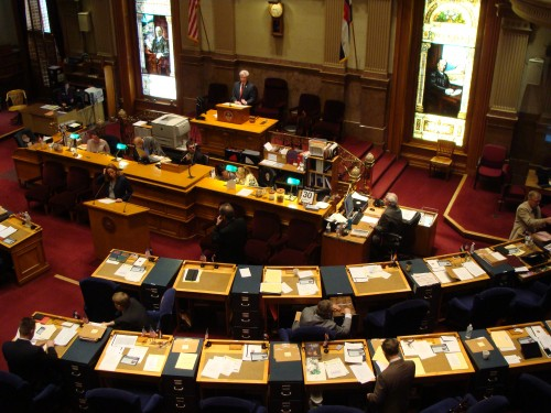 Photo: Colorado Senate chambers