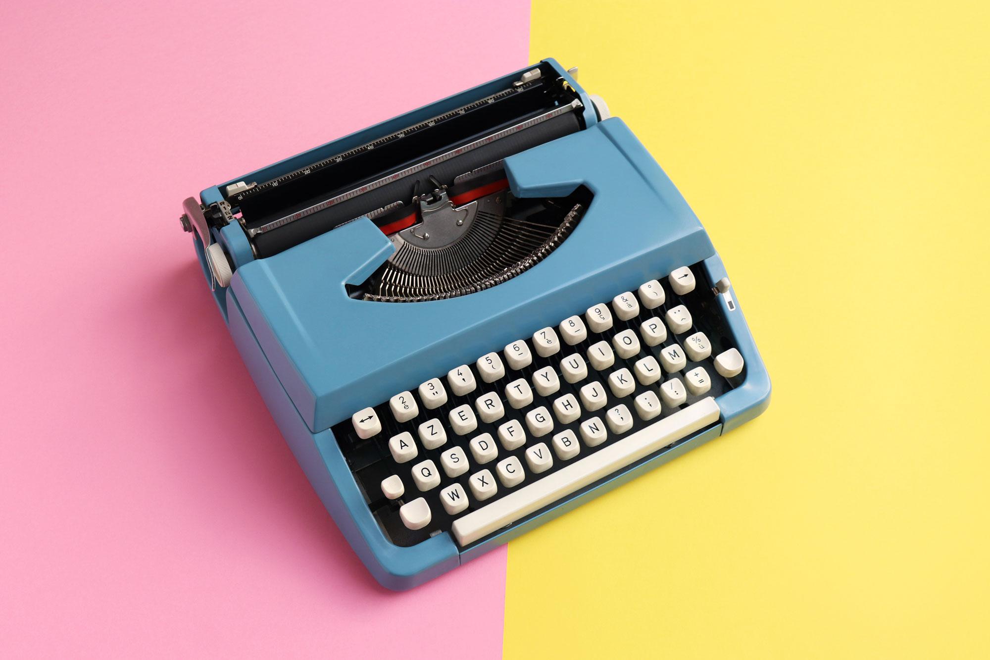 Photo: Typewriter