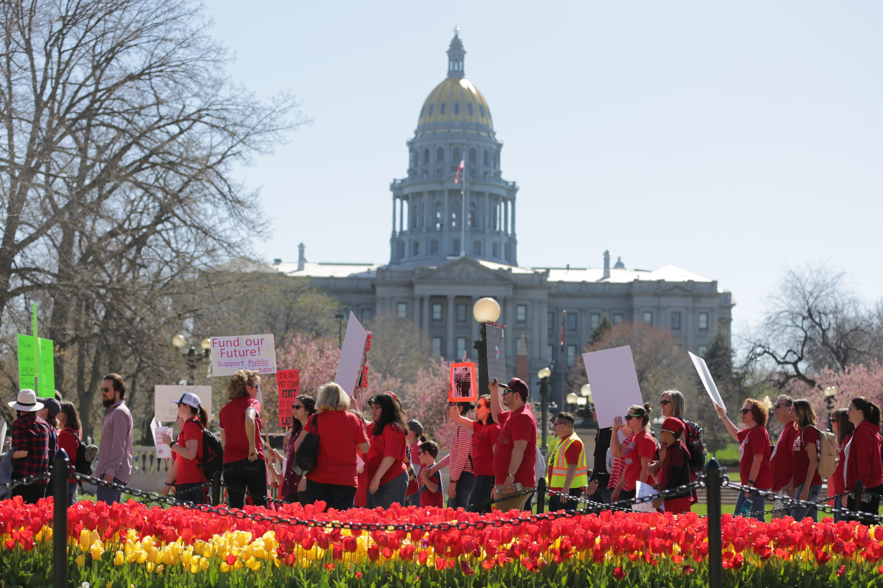 Photo: Teacher Walkout Second Day 5