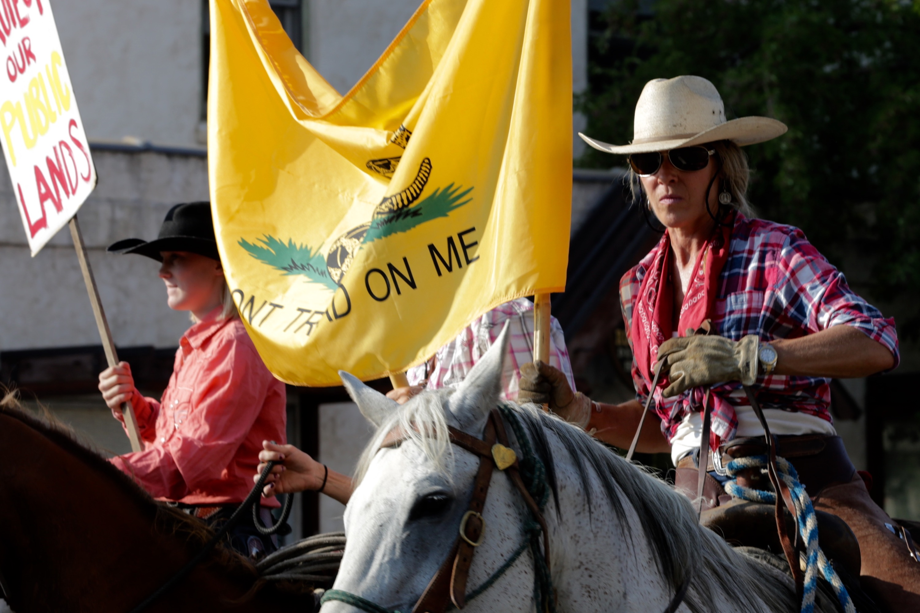 Photo: Steamboat Zinke Protest 2 (HV)