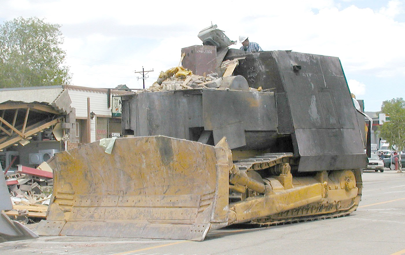 Photo: Killdozer