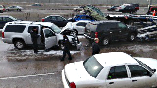 Photo: I-25 accident