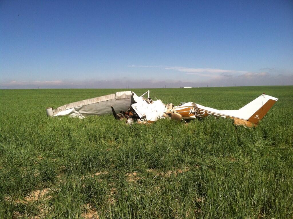 Photo: Adams County plane crash