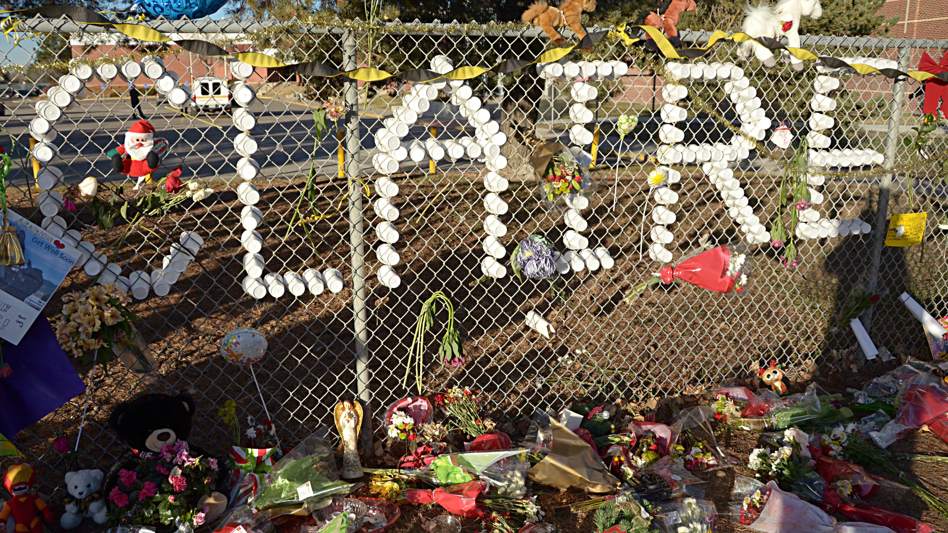 Photo: Claire Davis memorial at AHS