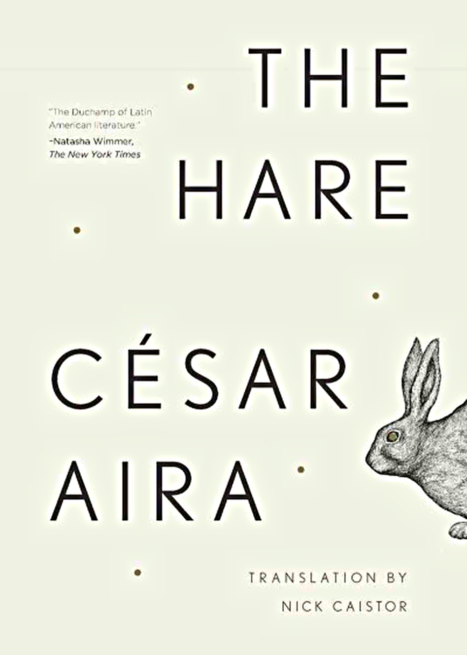 Photo: 'The Hare' Book Cover