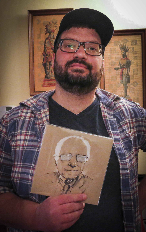 Andrew Kleiman, Sanders supporter