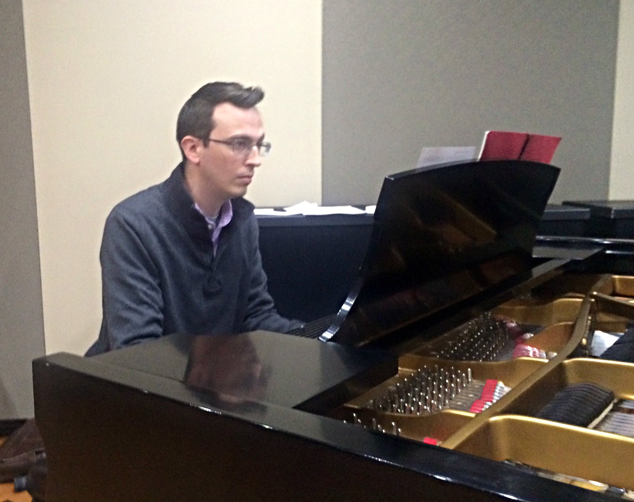 Photo: R. Andrew Lee in the CPR Performance Studio