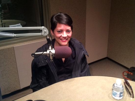 Photo: Violinist Anne Akiko Meyers during interview