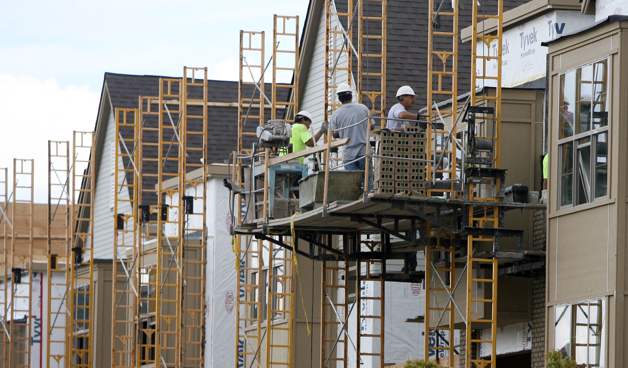 Photo: Condominiums in Lakewood (AP Photo)