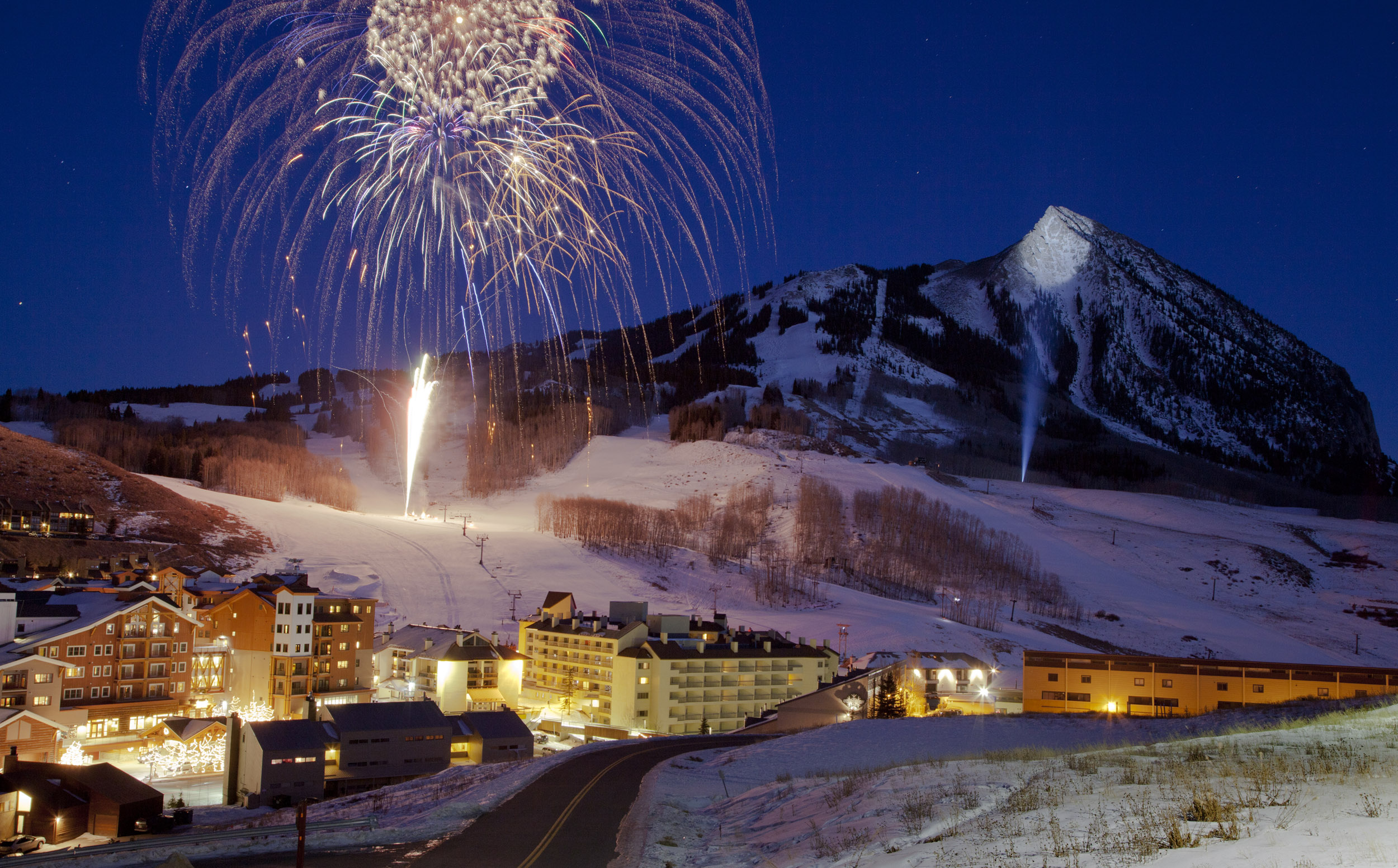 Photo: Crested Butte fireworks