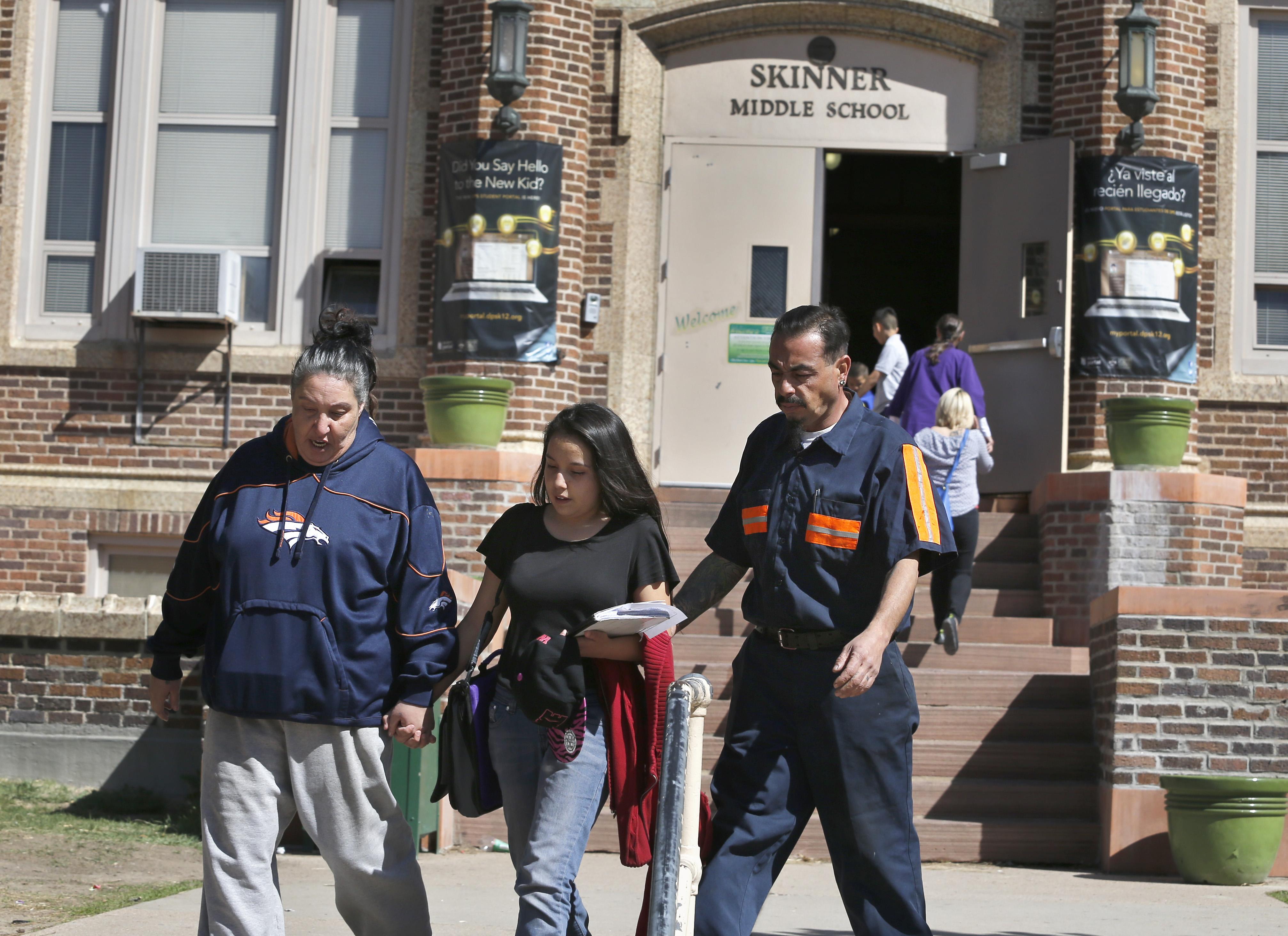 Photo: Skinner Middle School (AP Photo)