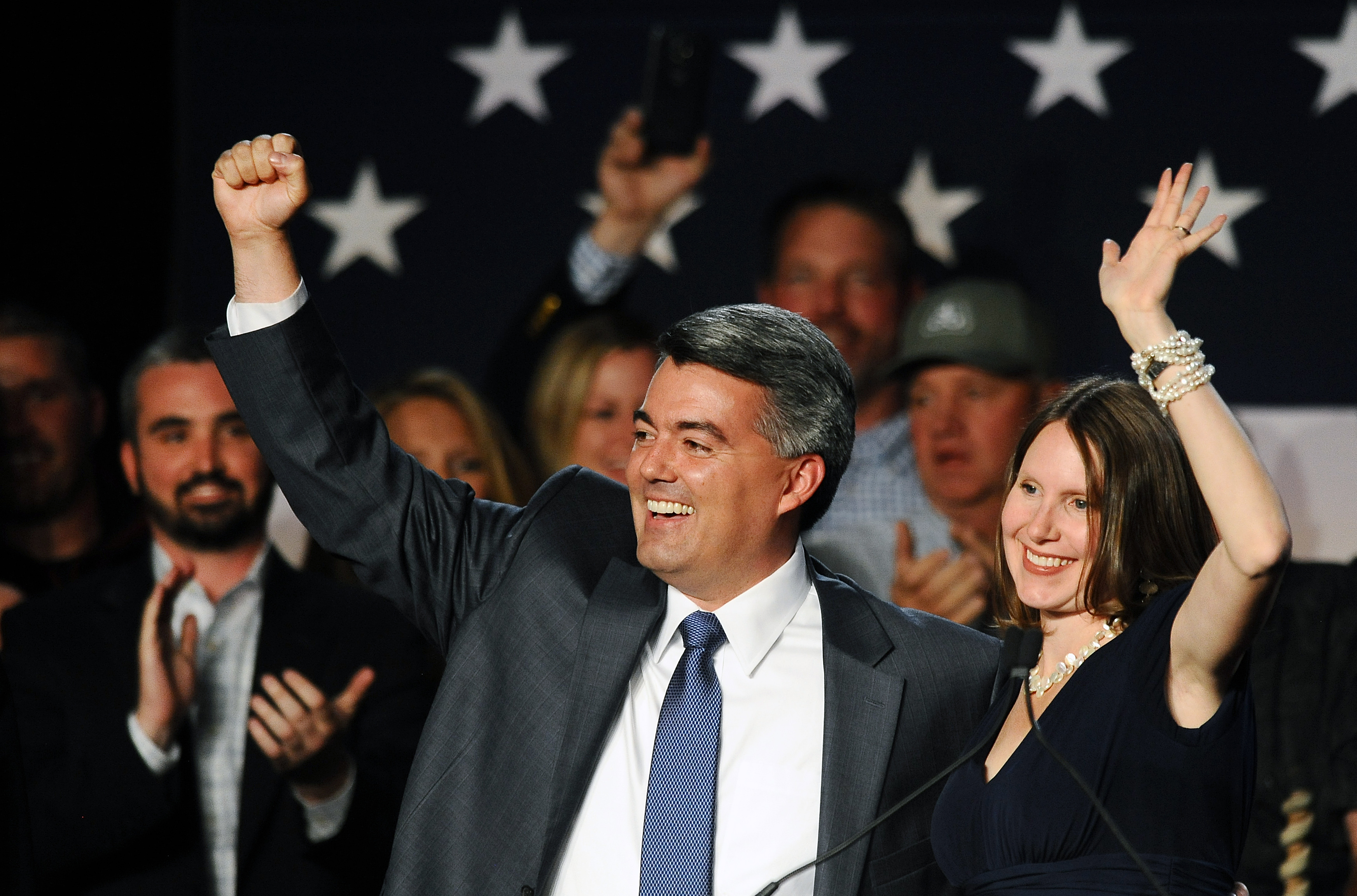 Photo: Cory Gardner wins Senate race (AP Photo)