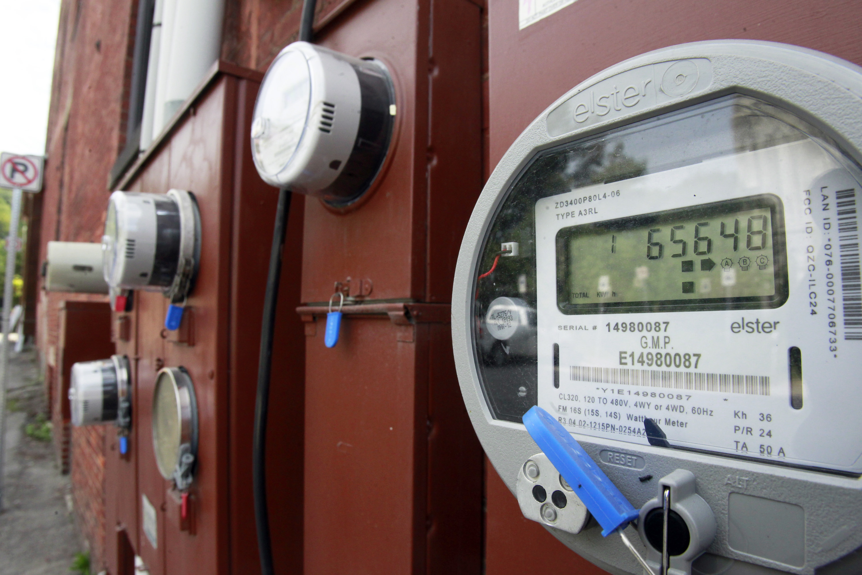 Photo: Electric meters (AP Photo)