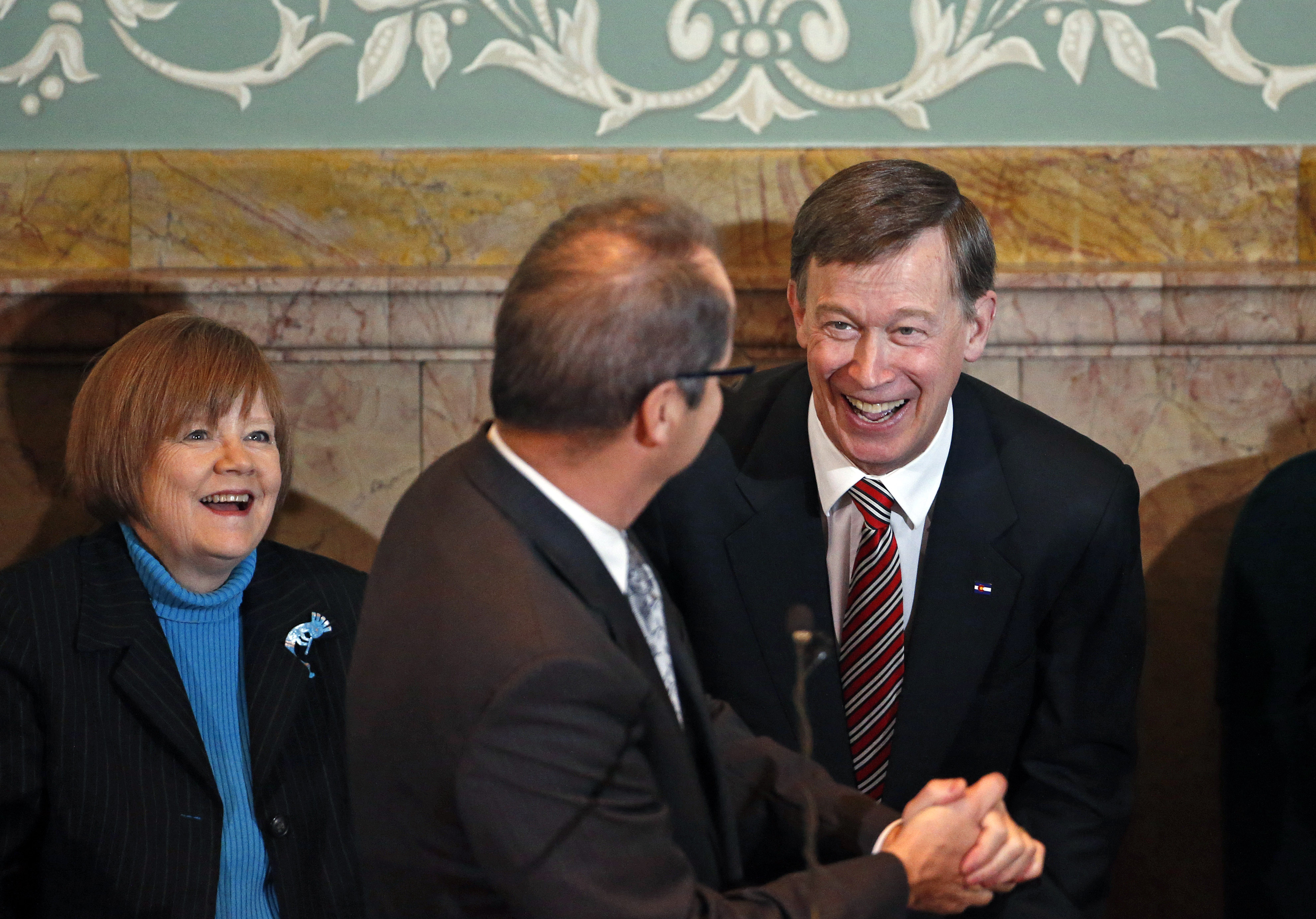 Photo: Hickenlooper, Cadman, Hullinghorst January 2015