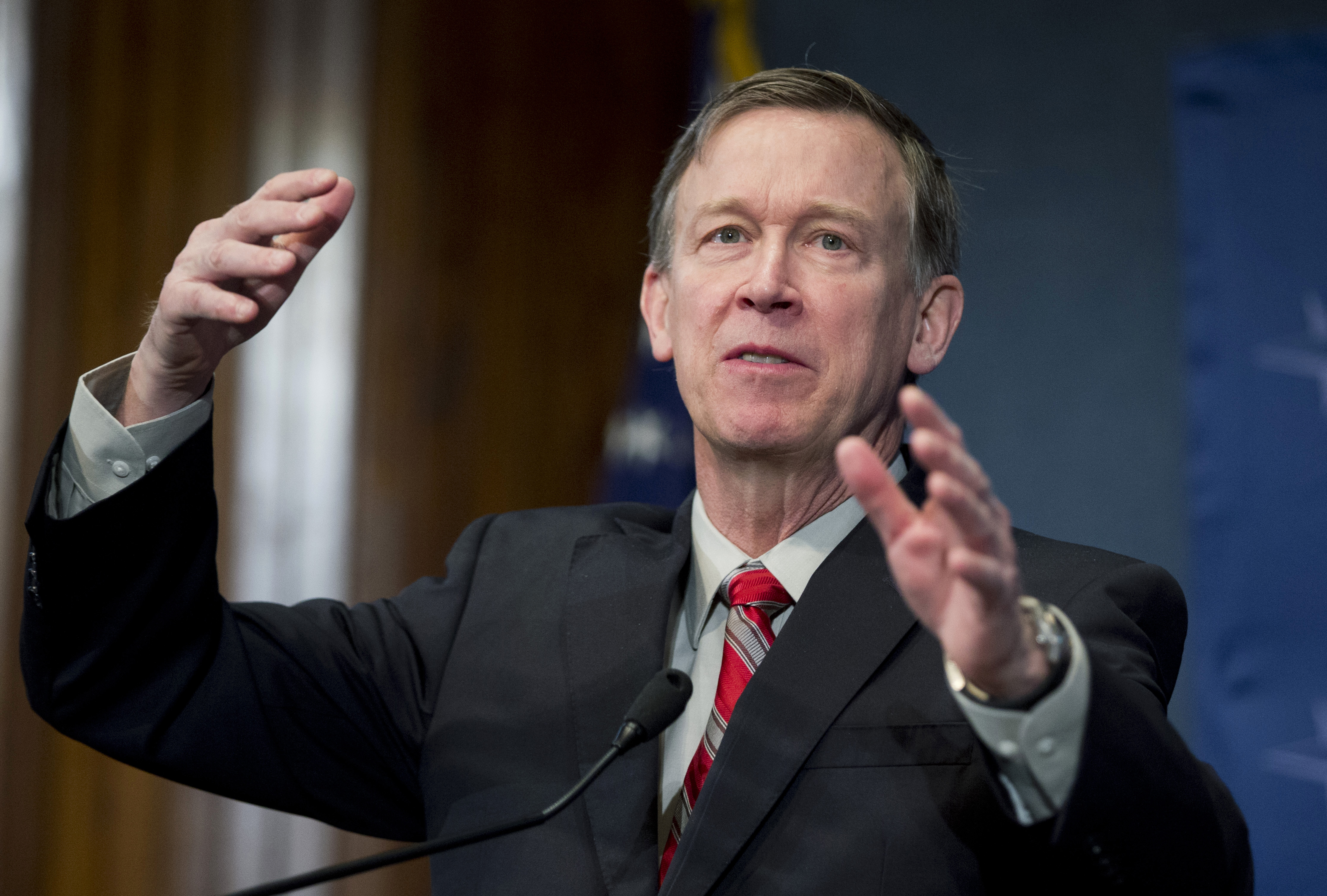 Photo: Gov. John Hickenlooper | January 2015 (AP Photo)