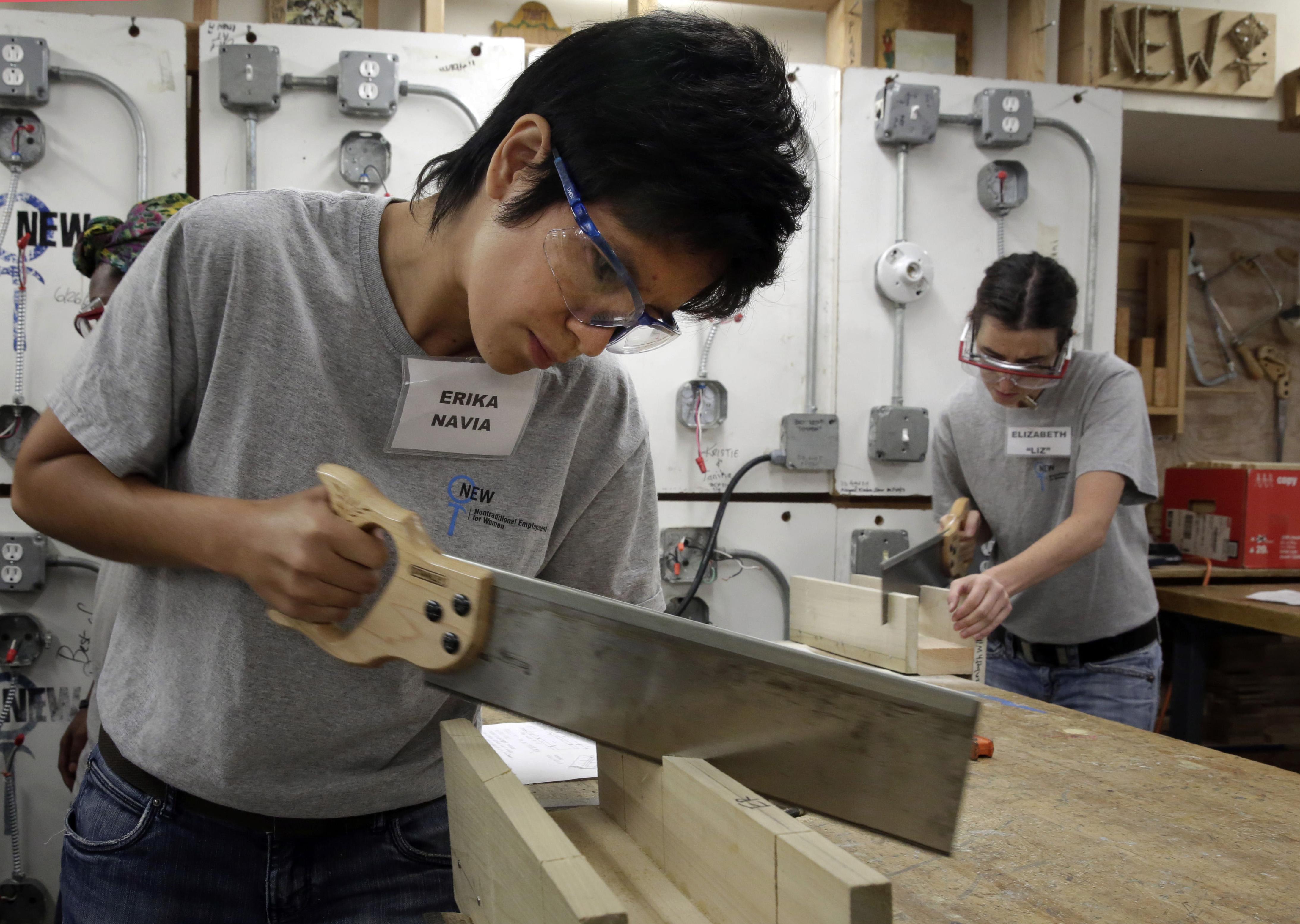 Photo: Student workforce training