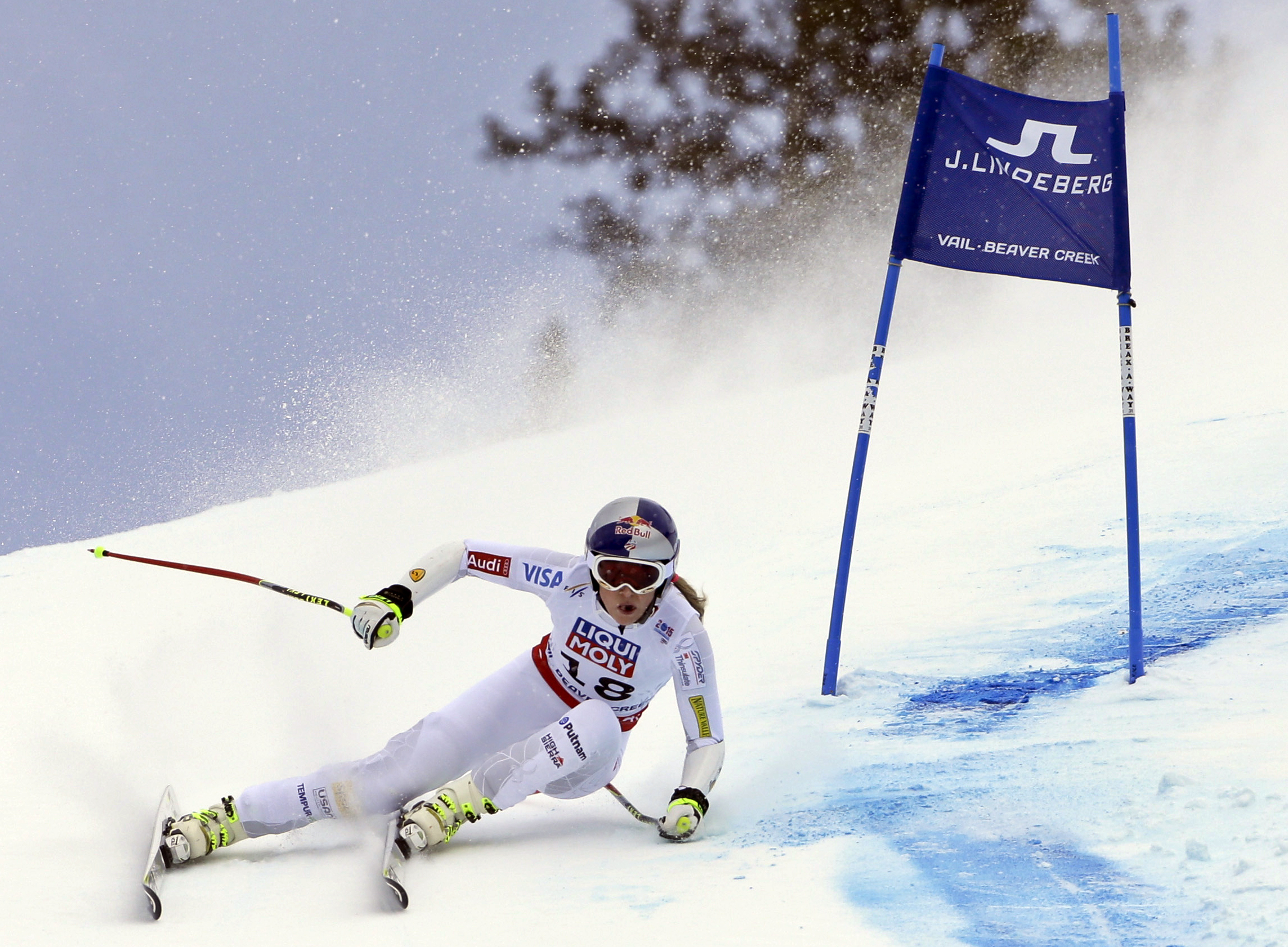 Photo: Lindsey Vonn in Beaver Creek (AP Photo)