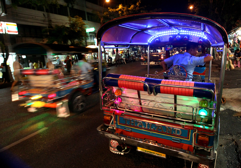 Photo: Tuk tuk in Thailand