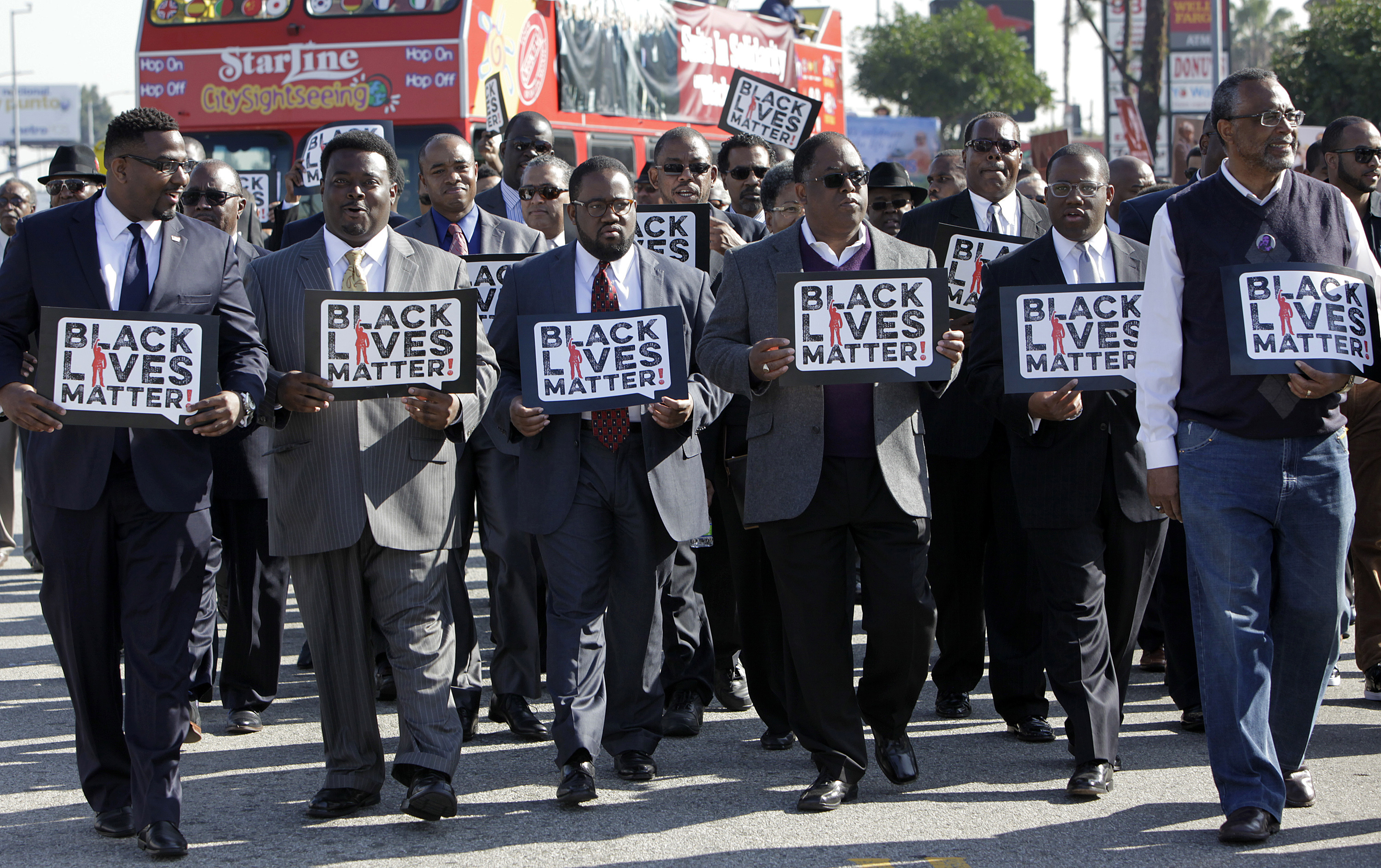 Martin Luther King Day, Los Angeles