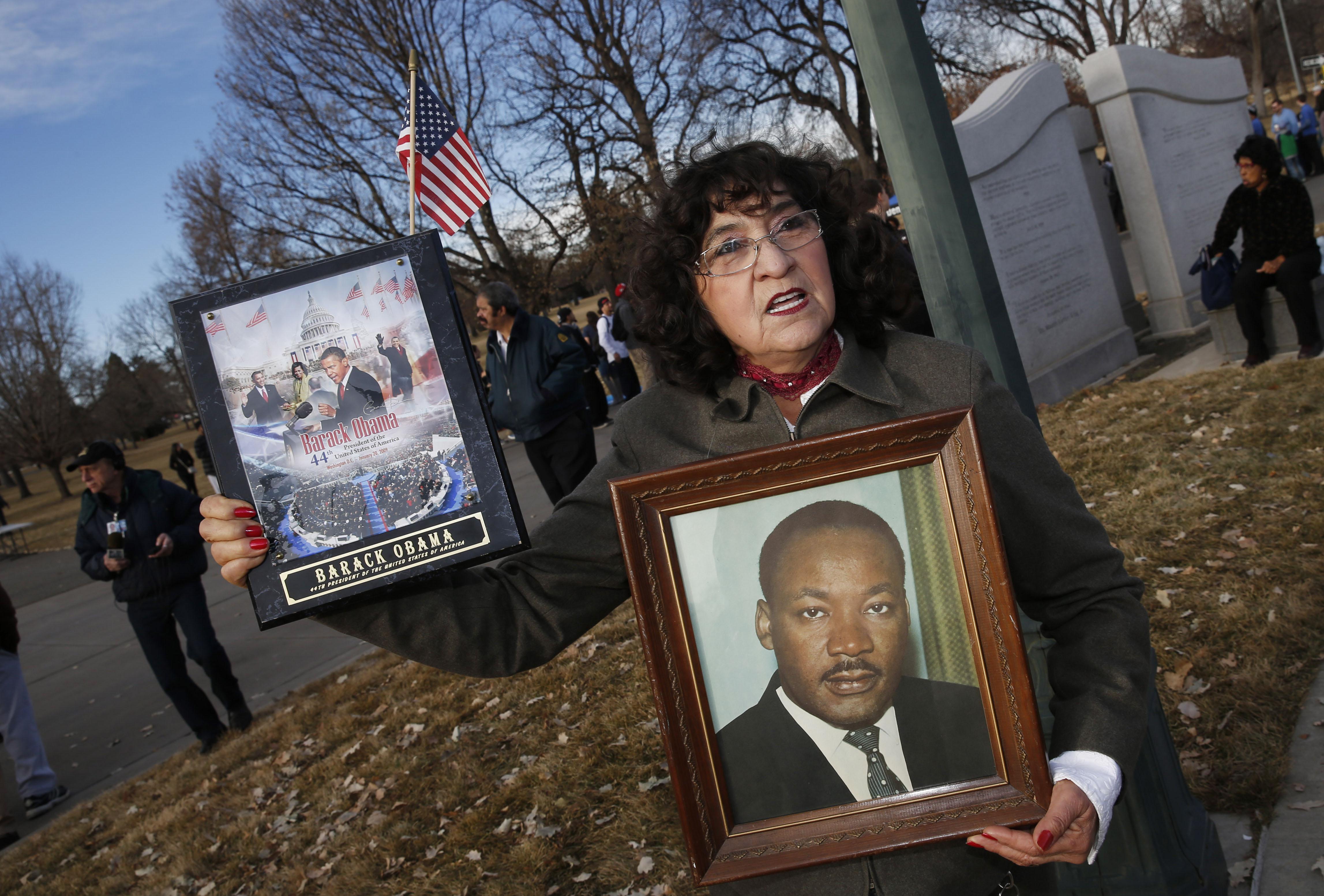 Maria Alaniz, Martin Luther King Jr.