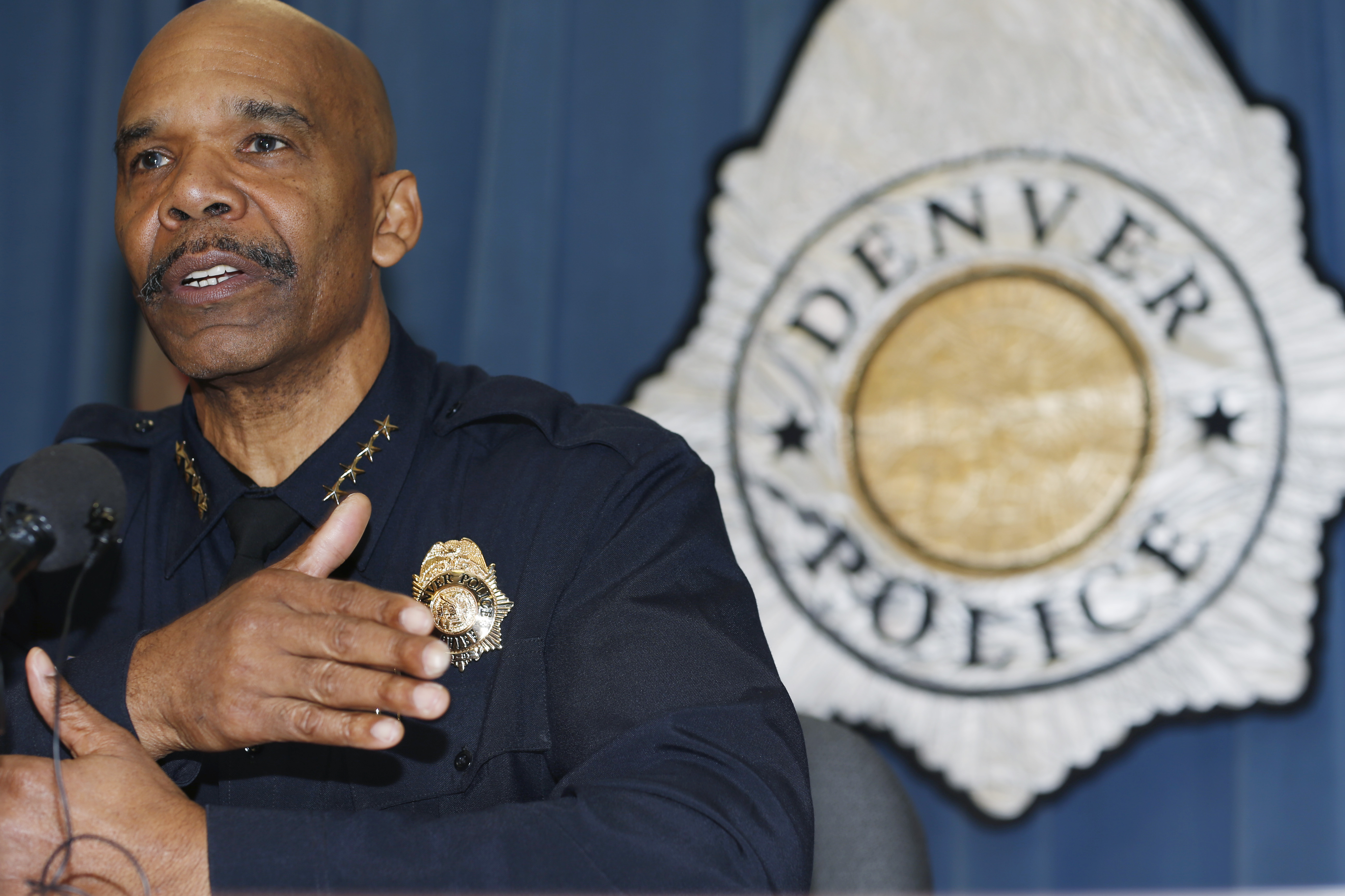 Photo: Denver Police Department Chief Robert White (AP Photo)