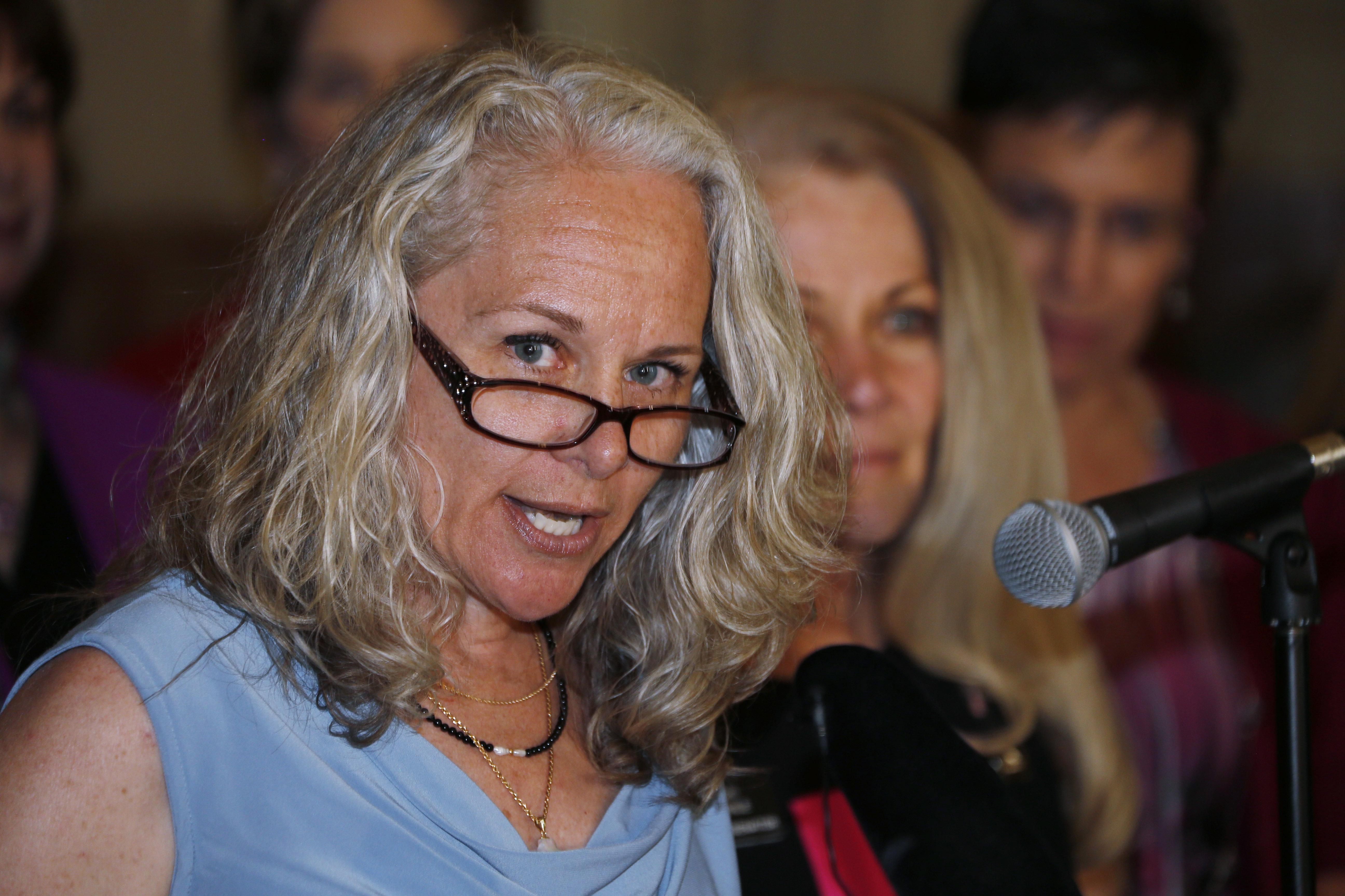 Photo: Colorado Springs mother speaks on public school testing (AP Photo)