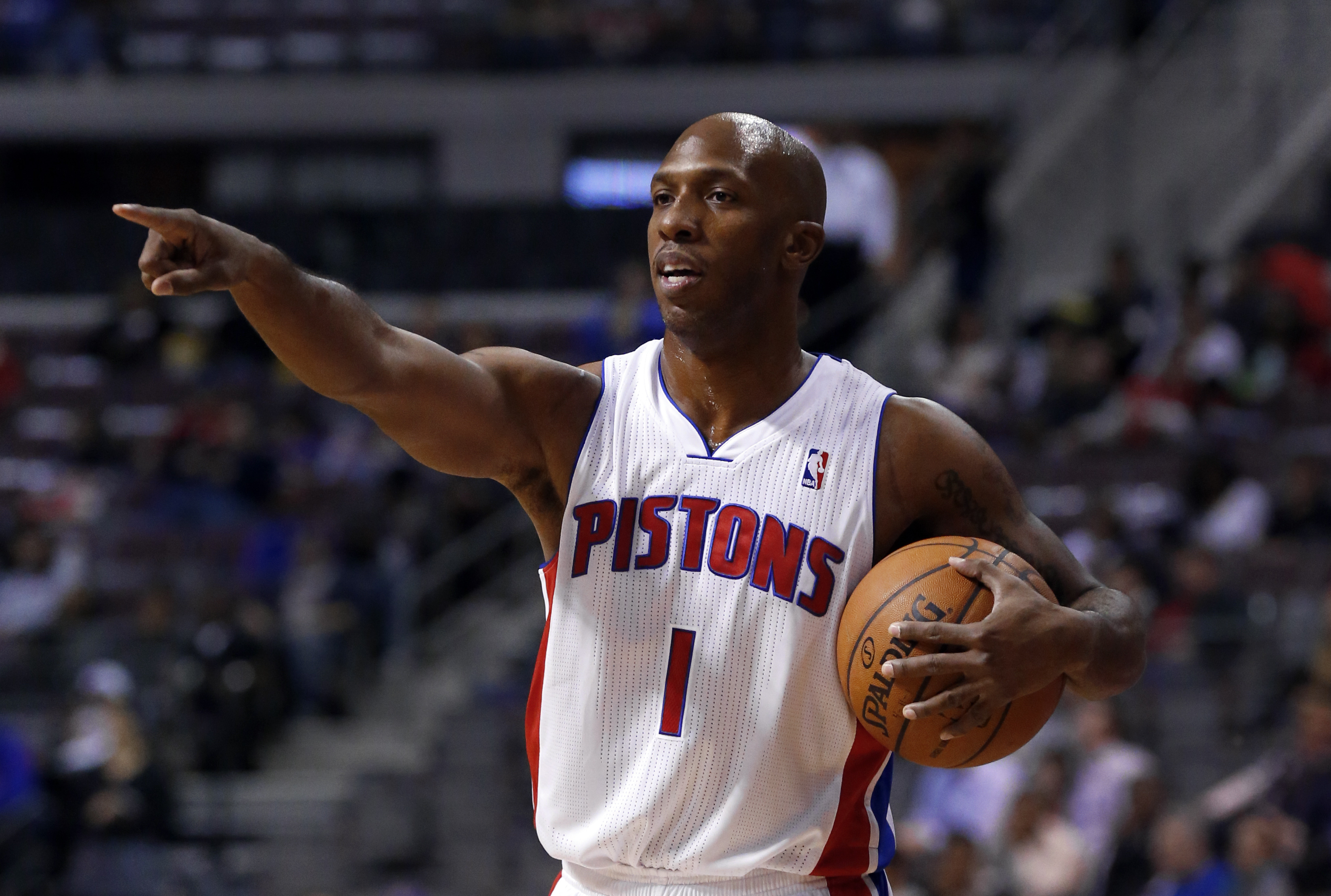 Photo: Chauncey Billups, Pistons (AP)