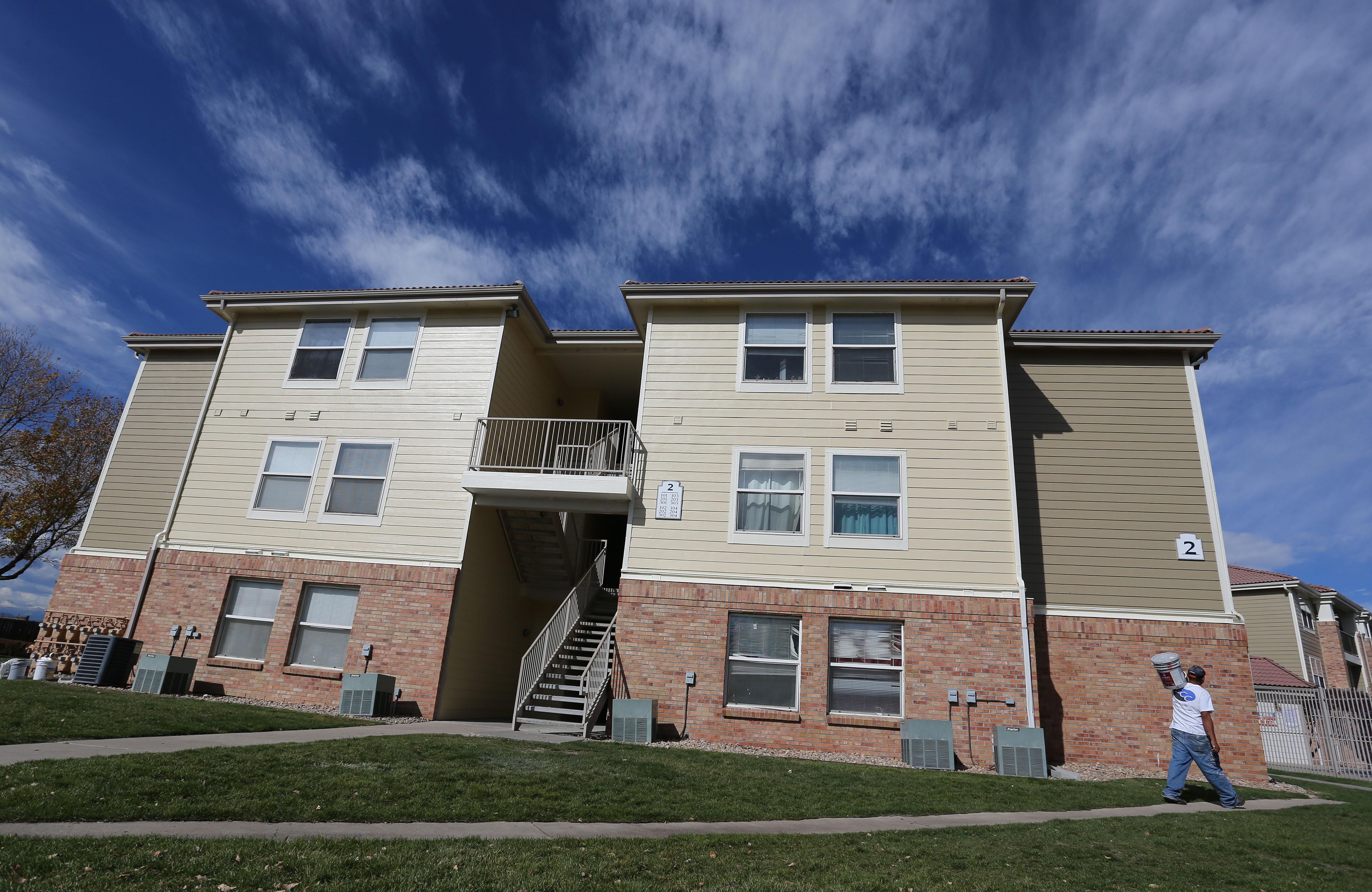 Photo: Aurora apartment building