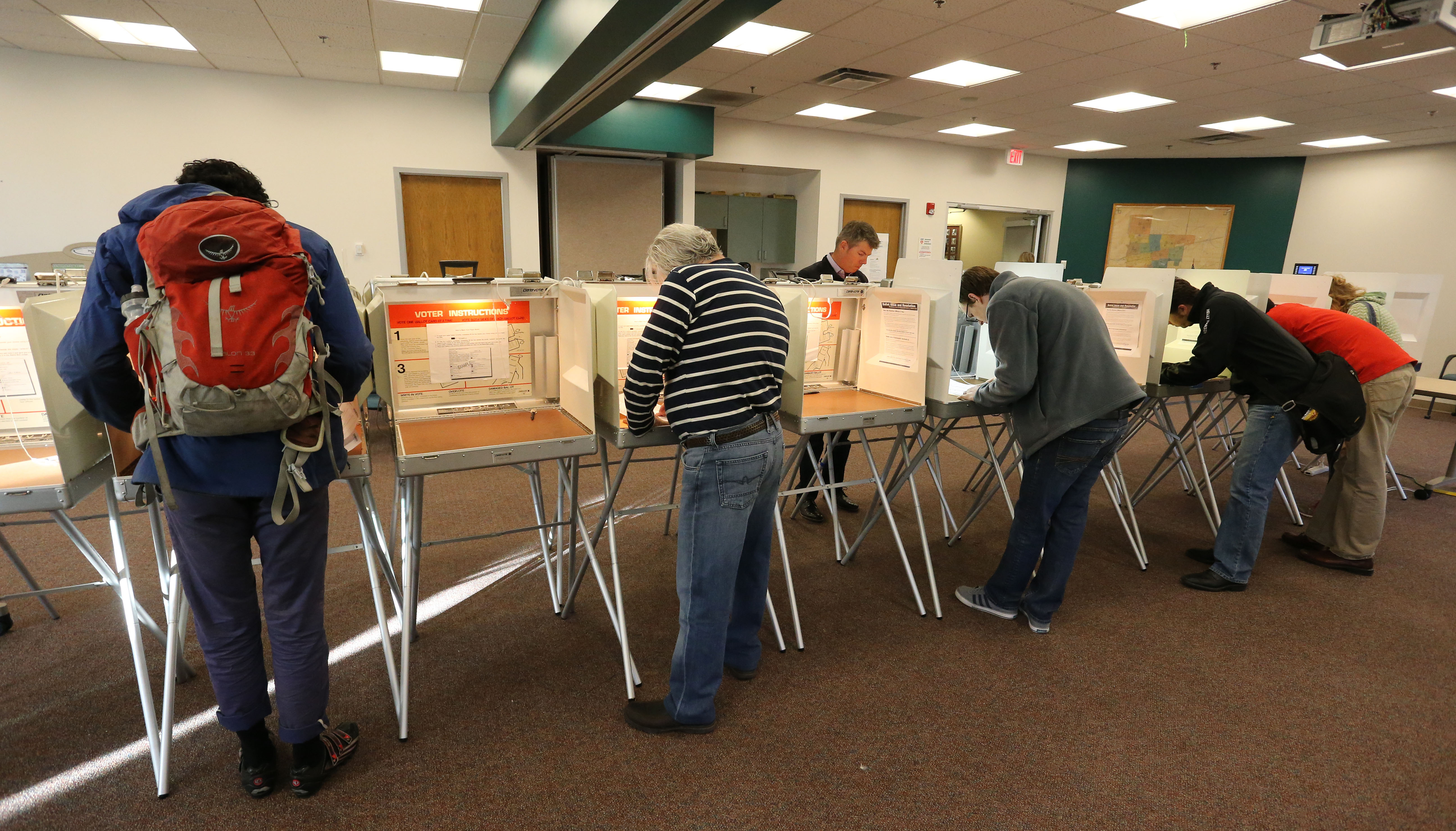 Photo: Boulder County Voters 2014