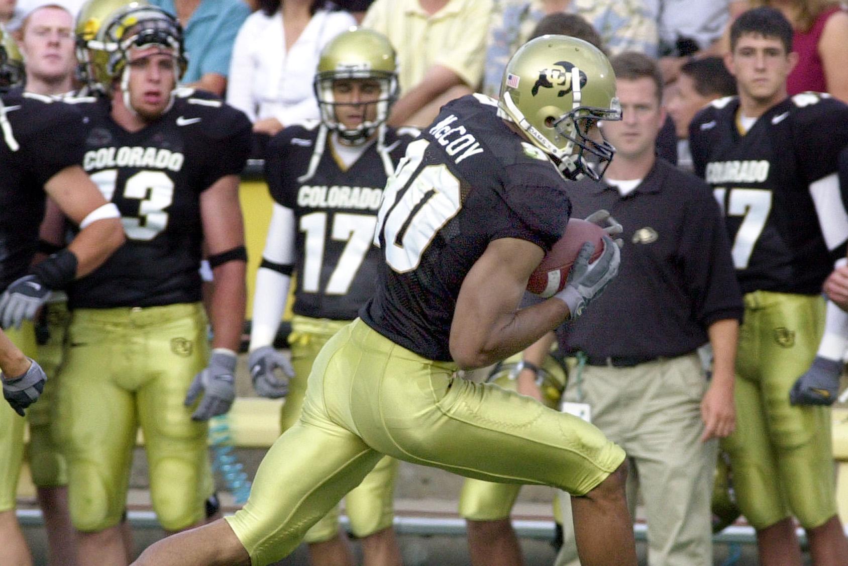 Photo: University of Colorado wide receiver Derek McCoy