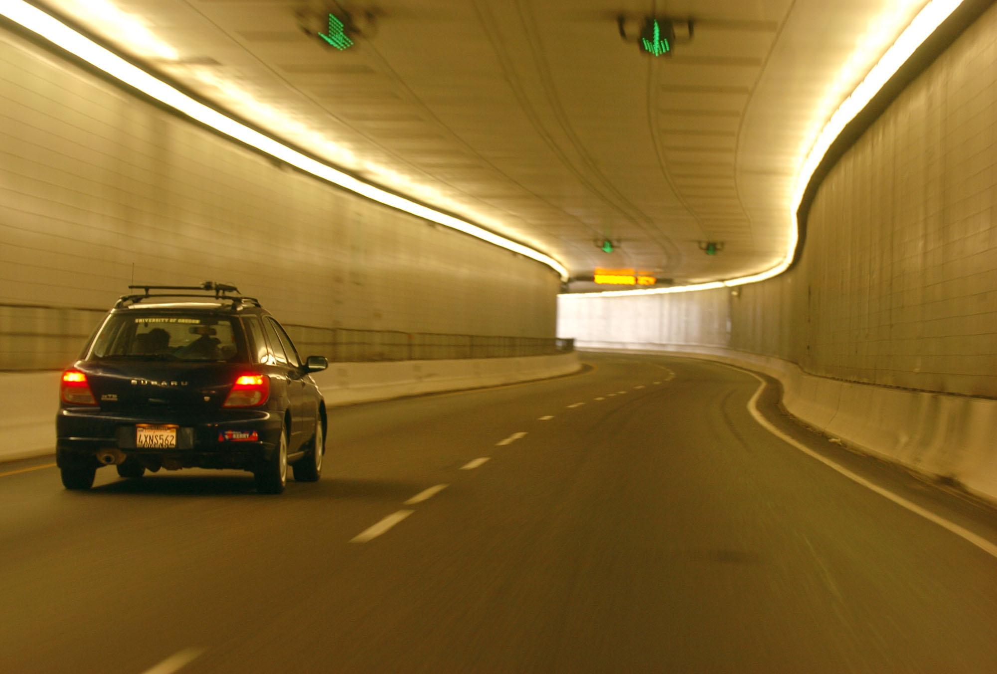 Photo: Eisenhower Tunnel on I-70 (AP Photo)