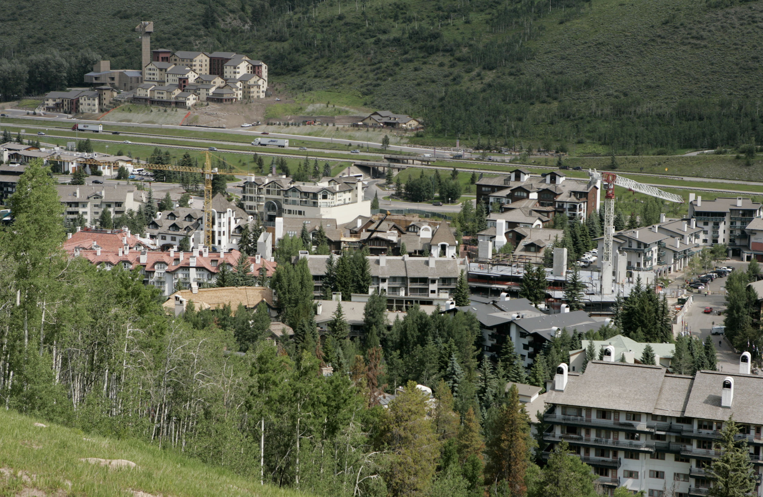 Photo: Vail Hotels From Above