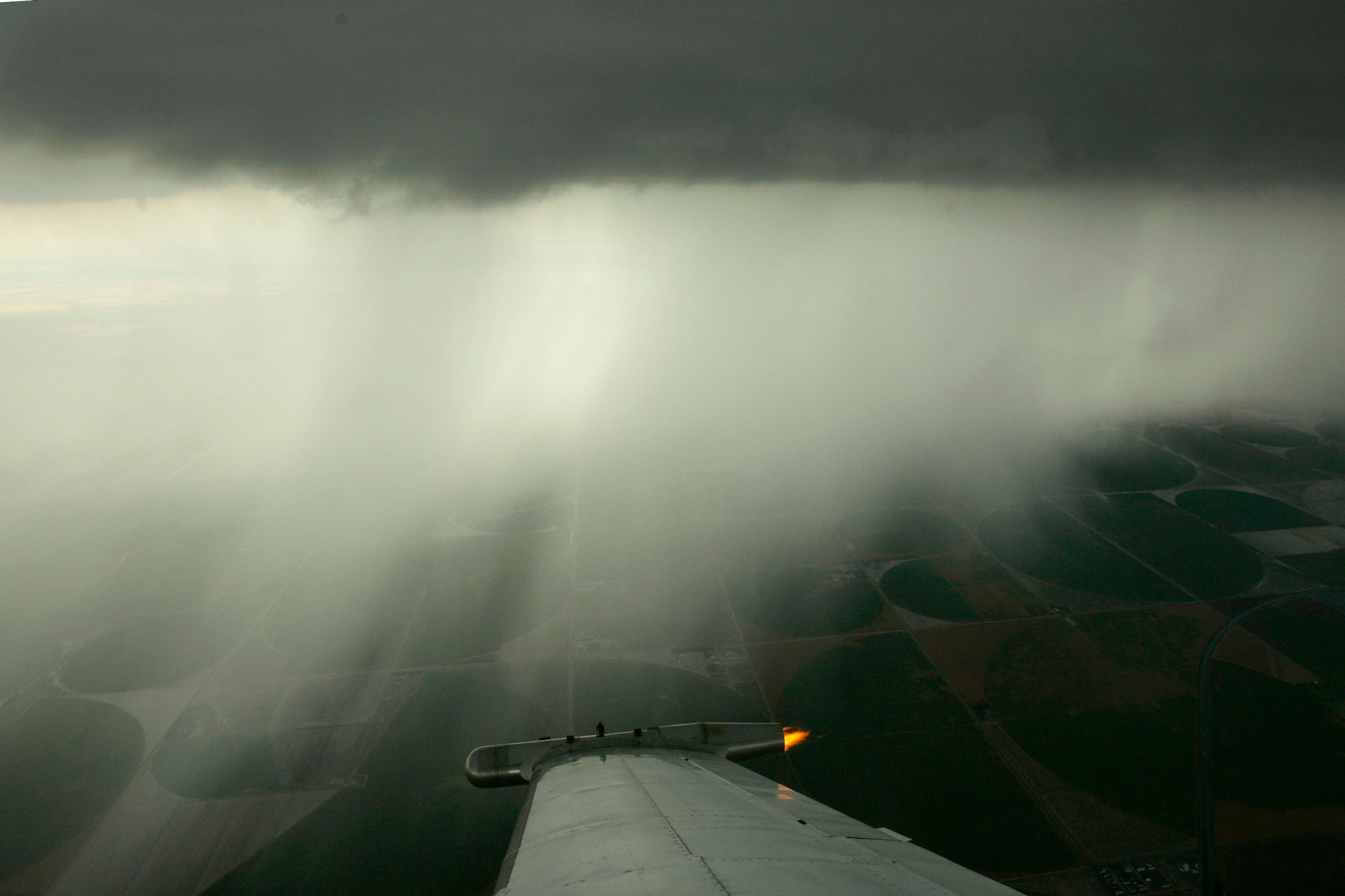 Photo: Cloud Seeding Plane