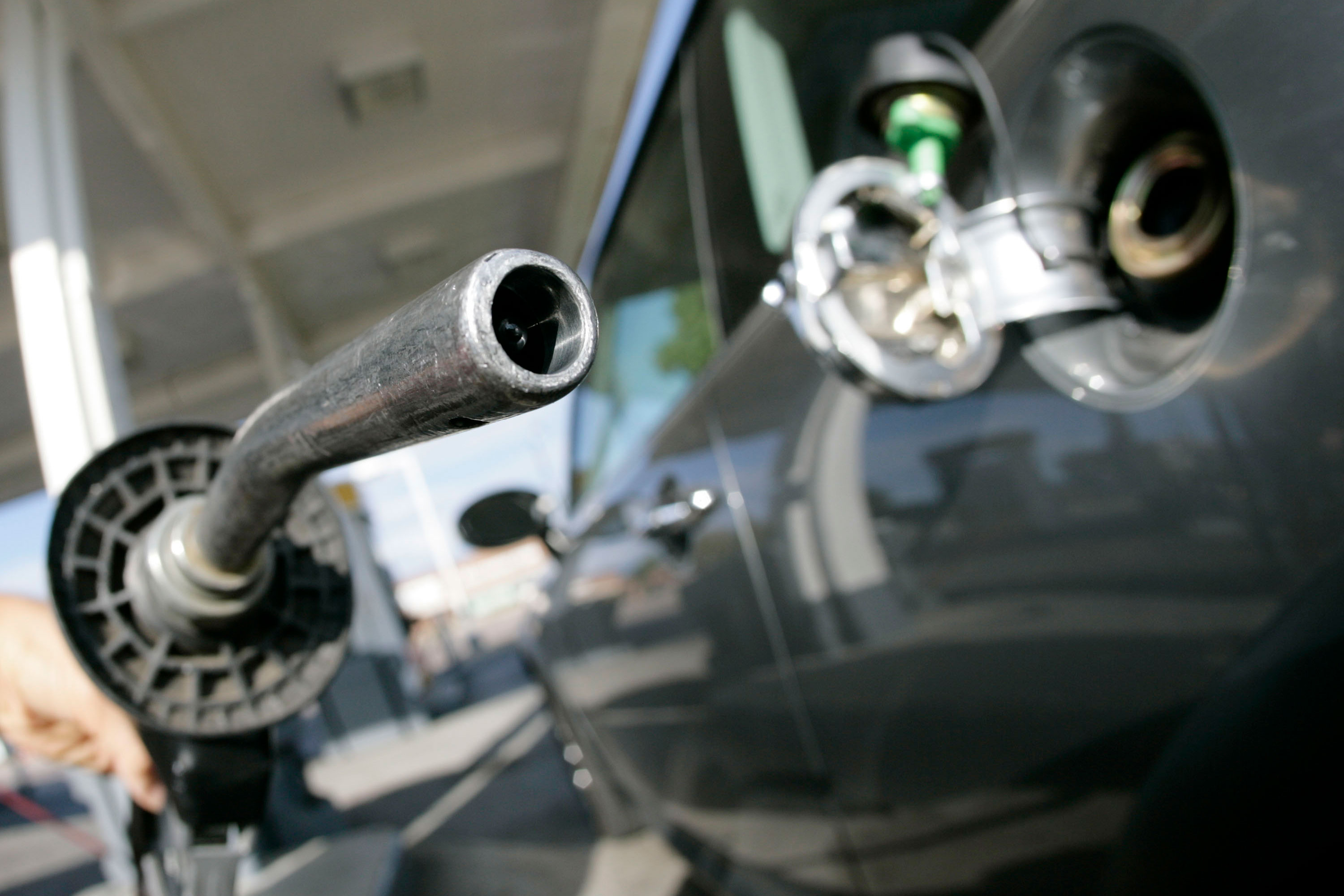 Photo: Gas Prices | Gas Nozzle At Denver Station - AP