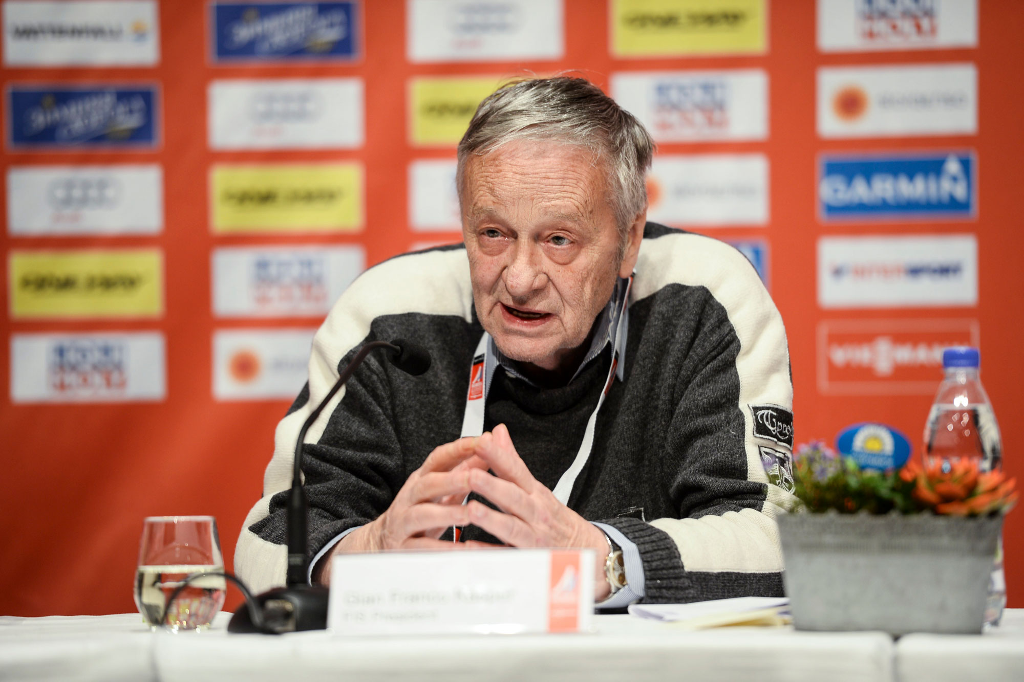 Photo: International Ski Federation Gian Franco Kasper