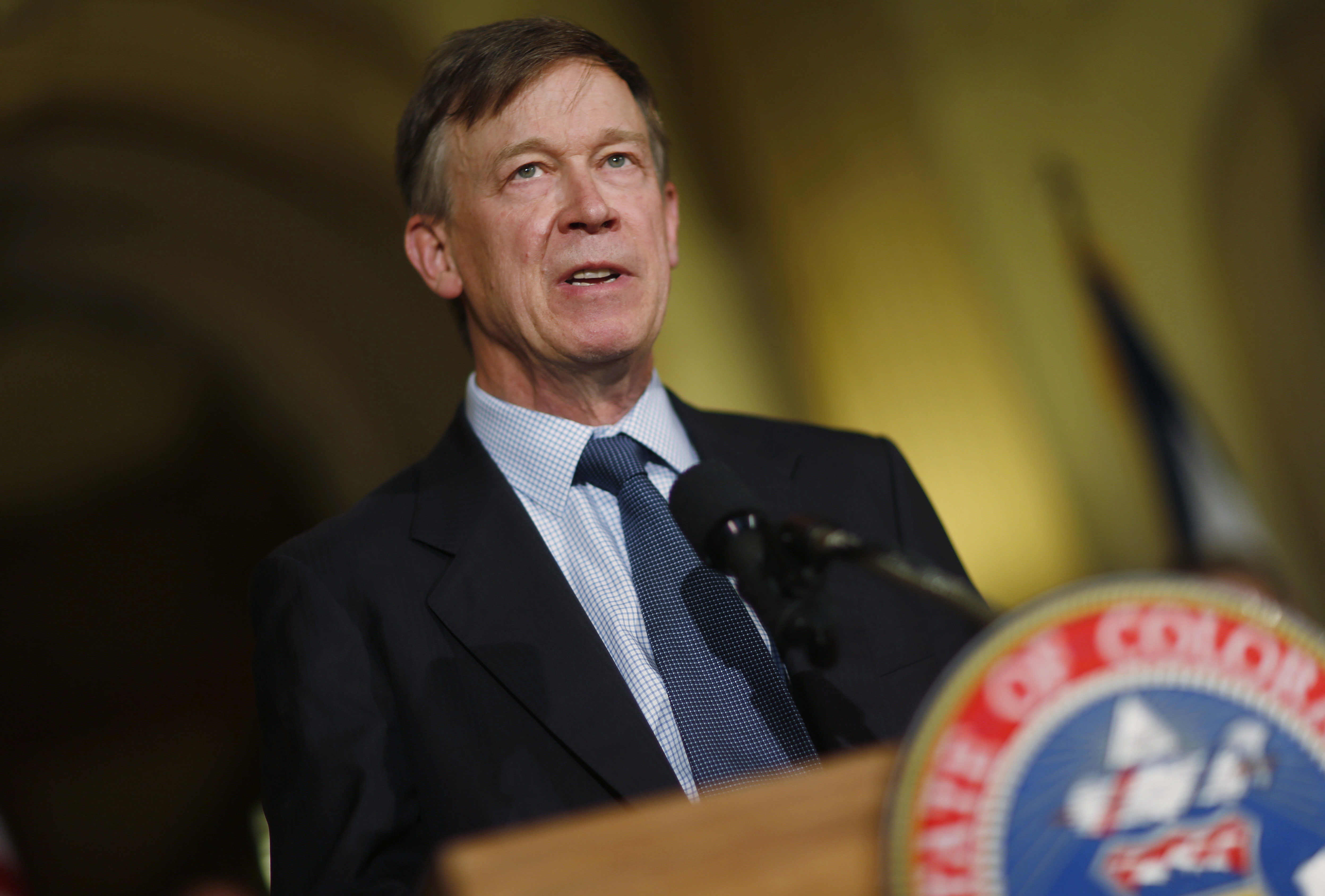 Photo: Gov. John Hickenlooper, June 2015 (AP Photo)