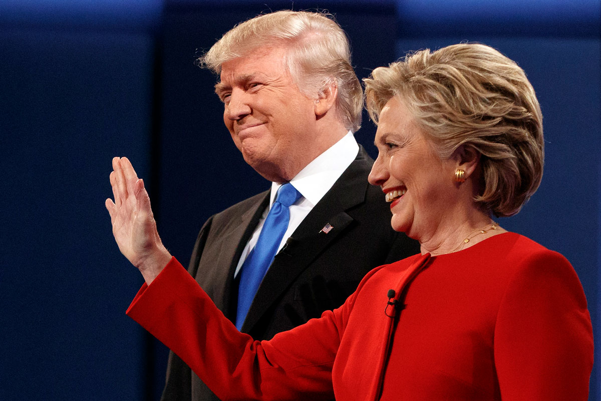 Photo: AP Image, Donald Trump-Hillary Clinton, First Pres. Debate