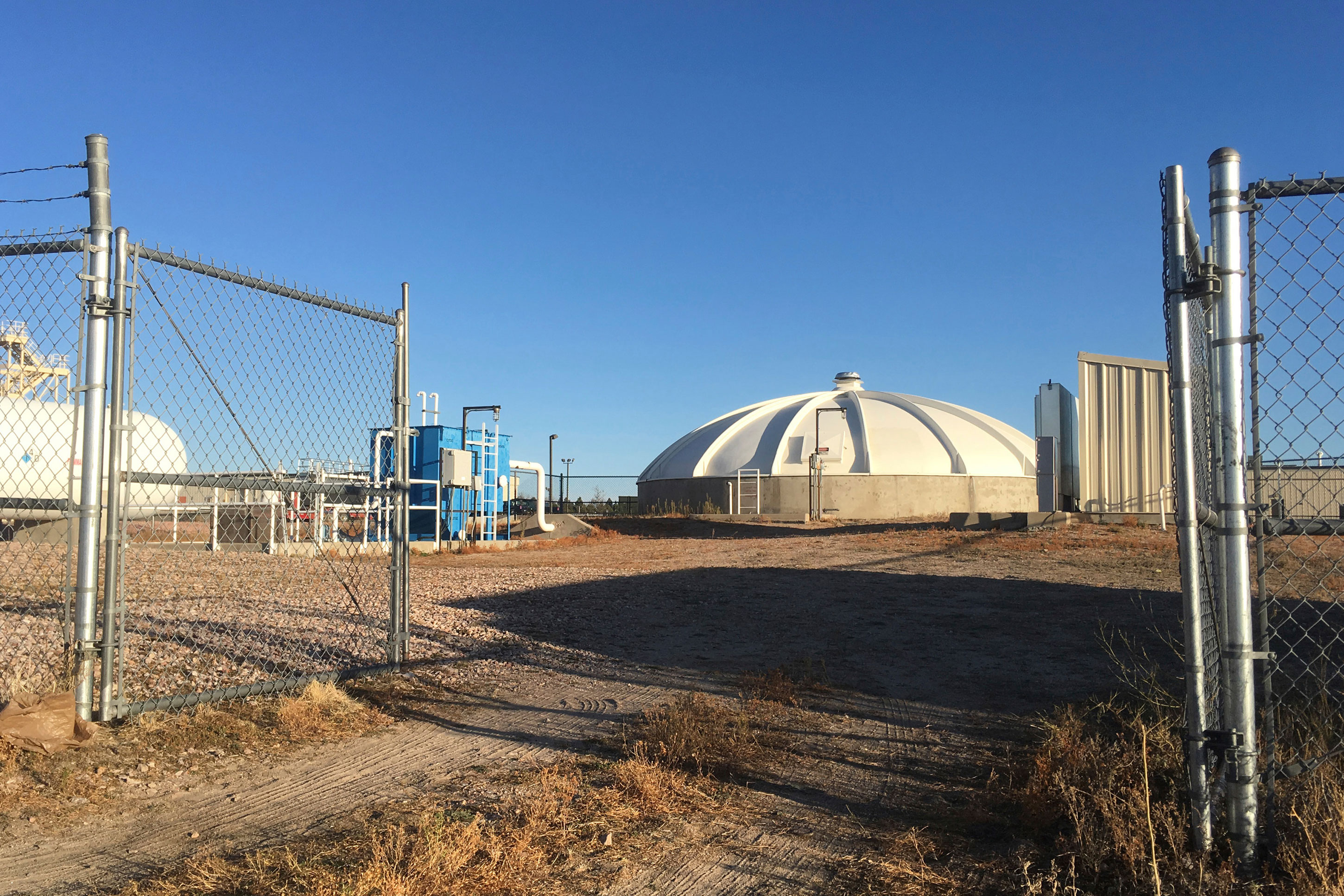 Photo: Peterson AFB PFC Wastewater - AP