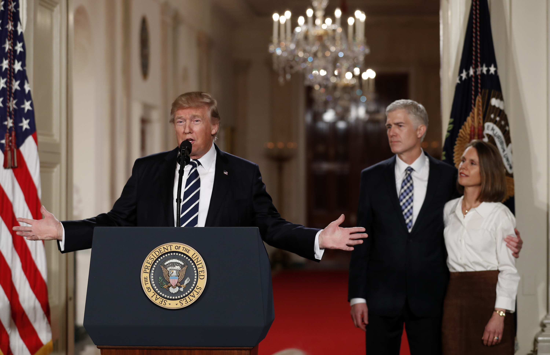 Photo: Trump Nominates Gorsuch