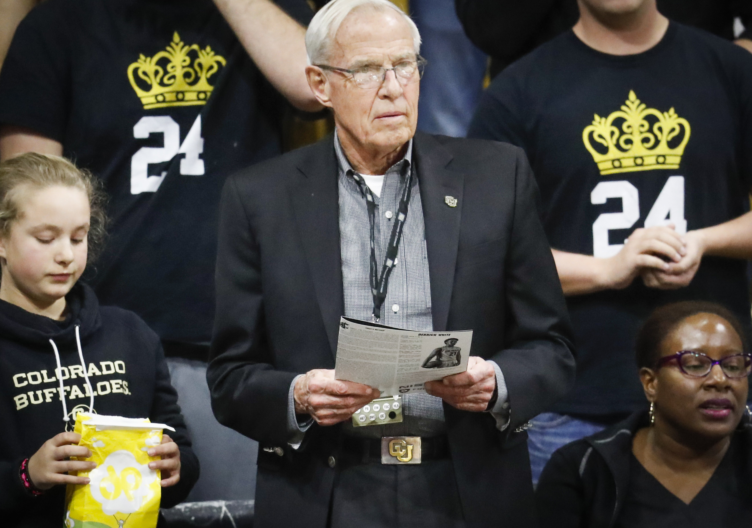 Photo: CU President Bruce Benson (AP Photo)