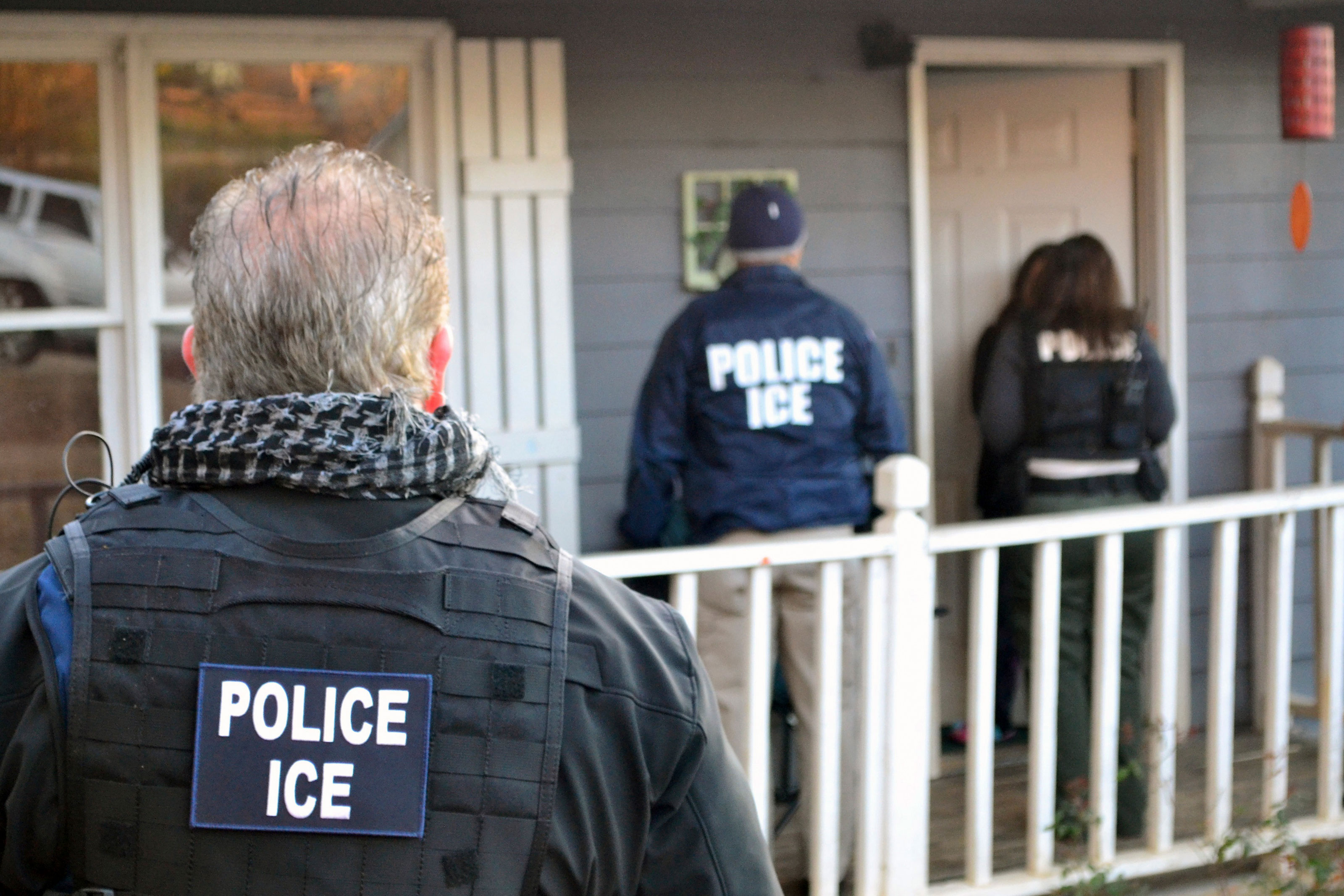 Photo: ICE Immigration Arrests - AP Photo