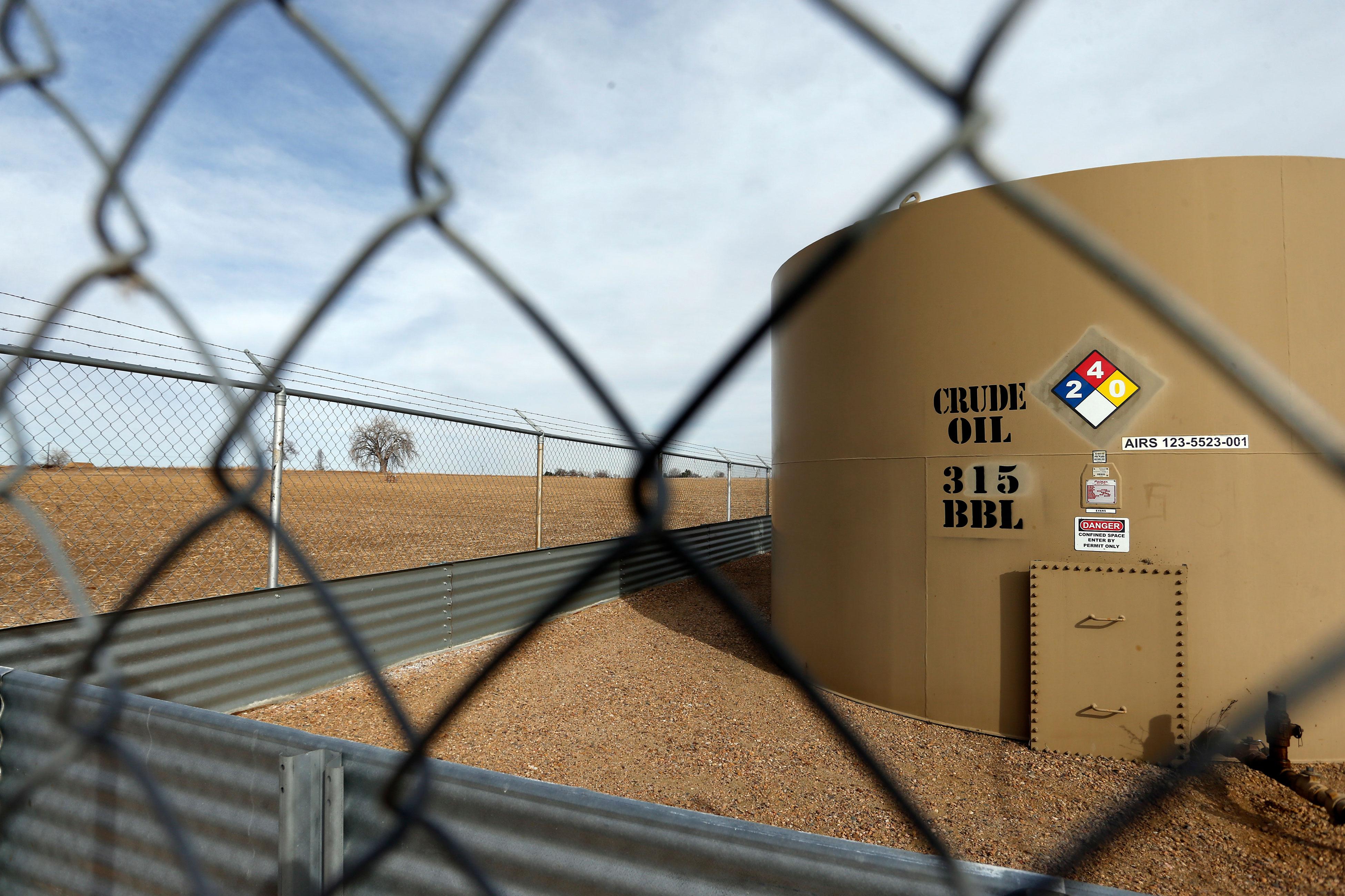 Audio: Weld County Oil Tank - AP